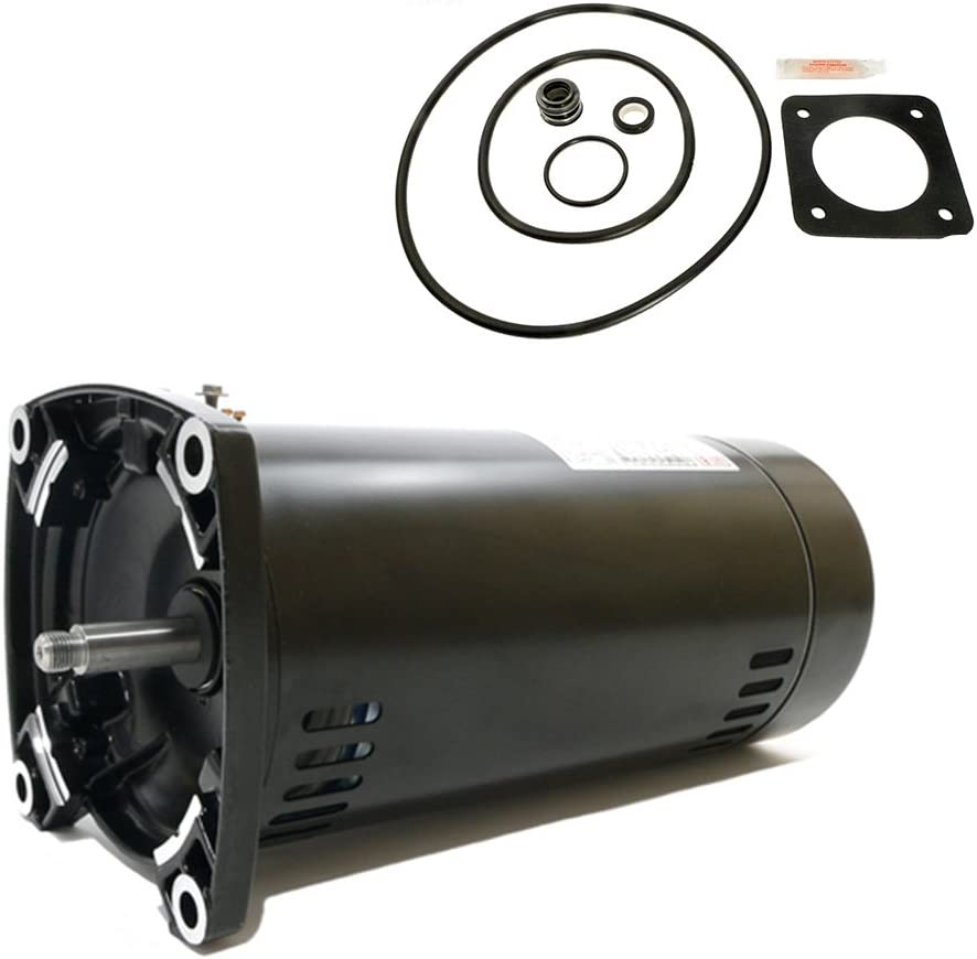 Century Electric USQ1152 1 1/2-Horsepower Up-Rated Square Flange Replacement Motor (Formerly A.O. Smith)