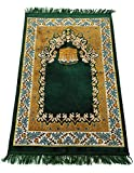 Prayer Rug Carpet Islamic Muslim Salah Meditation Mat Turkish Exquisite