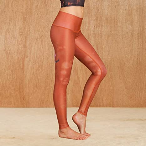 Teeki Buffalo Princess Sienna Yoga Leggings: Amazon.es ...