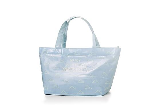 Bolsa oval azul sueños