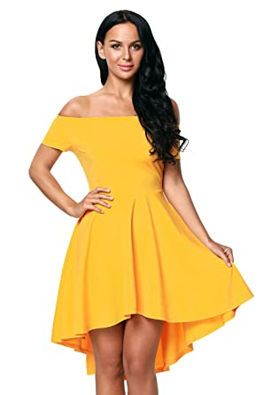 83a5aca84cd Sam s Boutique Yellow All The Rage Skater Dress. Size  Small ...
