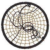 FDegage 40″ Tire Spider Web Tree Swing Chirstmas Gift Detachable Nylon Rope Swivel Playground Platform Net Swing (Orange) Review