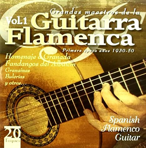 Grandes Maestros De La Guitarra Flamenca: Various Artists: Amazon ...