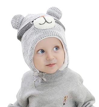 4e1e3a898b20 Superora - Chapeau - Bébé (garçon) 0 à 24 mois - Gris -  Amazon.fr ...