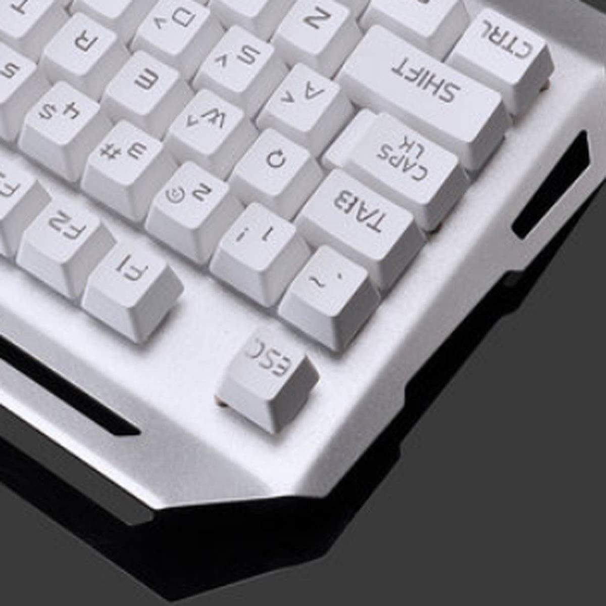 Esport Desktop Notebook Universal Style Mechanical Touch Set Computer Keyboard Wuhuizhenjingxiaobu Keyboard Black Orange Light, Mouse Pad + Mouse, 45.616.84.3cm Delicate
