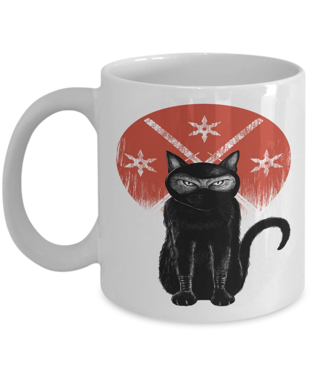 Amazon.com | Olympic Cat Shop - Ninja Cat With Nine Lives ...