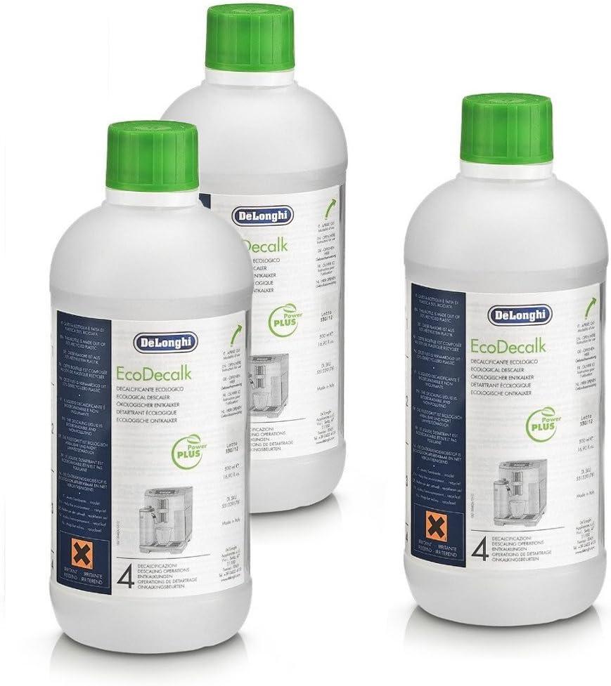 DeLonghi 16.9 Ounce Eco Descaling Solution, Set of 8