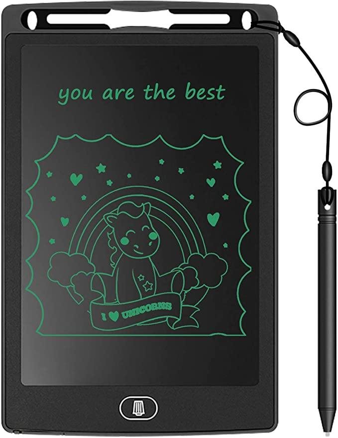 Consumer electonics HA Howshow 12 inch LCD Pressure Sensing E-Note Paperless Writing Tablet//Writing Board Black Color : Red