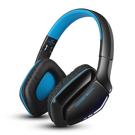 KOTION EACH B3506 Bluetooth Auriculares Auriculares inalámbricos Plegable Auricular de juegos V4.1 con micrófono