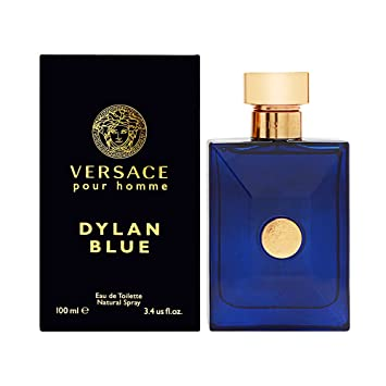 98309d379d5 Amazon.com : Versace Pour Homme Dylan Blue FOR MEN by Versace - 3.4 oz EDT  Spray : Beauty