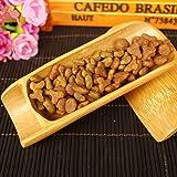 BESTONZON Bamboo Tea Coffee Scoop Spoon Mini Shovel Matcha Powder Teaspoon Scoop Chinese Kung Fu Tool