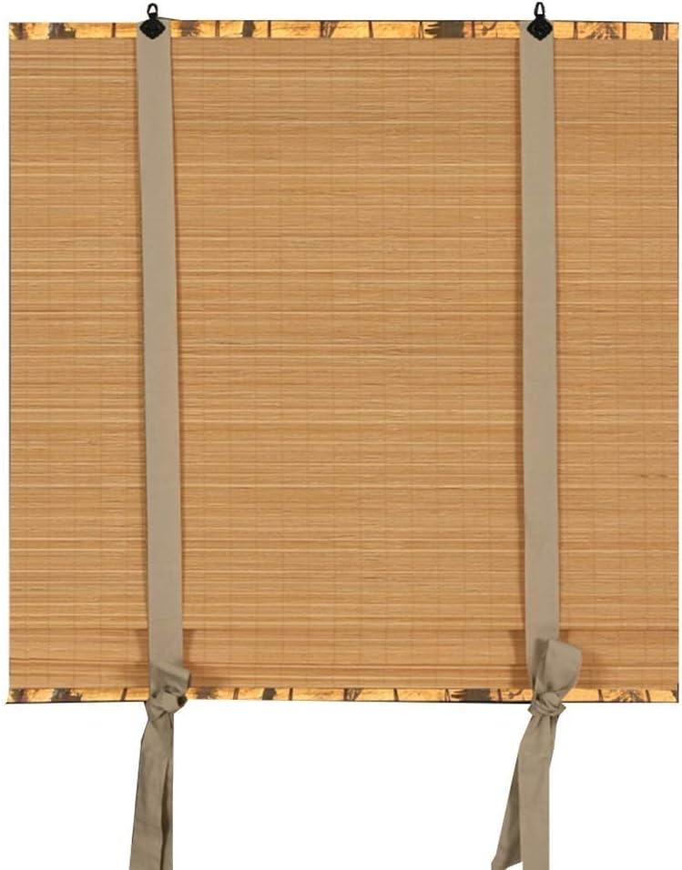 Veneciano Persianas enrollables Cortinas de bambú Sombreado y levantamiento Cortinas decorativas Pantallas chinas, 3 colores, varios tamaños se pueden configurar (Color : C , Size : 100x200cm) : Amazon.es: Hogar