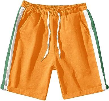 FRAUIT Pantalones Cortos Deportivos Casuales Pantalones Cortos ...