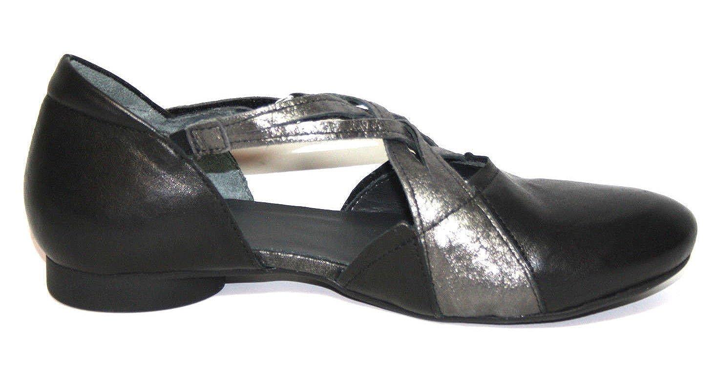 Think Guad Guad Guad 80286 Damen Knöchelriemchen Ballerinas (38 Schwarz (sz kombi 09)) ea75ee