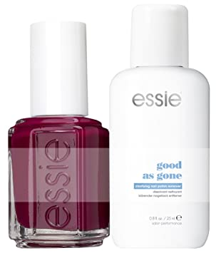 Essie Bahama Mama with Nail Polish Remover Good As Gone (Single ...