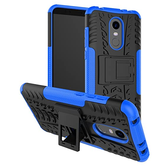 best sneakers 2db3d 9c919 Xiaomi Redmi 5 Plus Hybrid Case, Redmi 5 Plus Shockproof Case, Dual Layer  Shockproof Hybrid Rugged Case Hard Shell Cover with Kickstand for 5.99'' ...