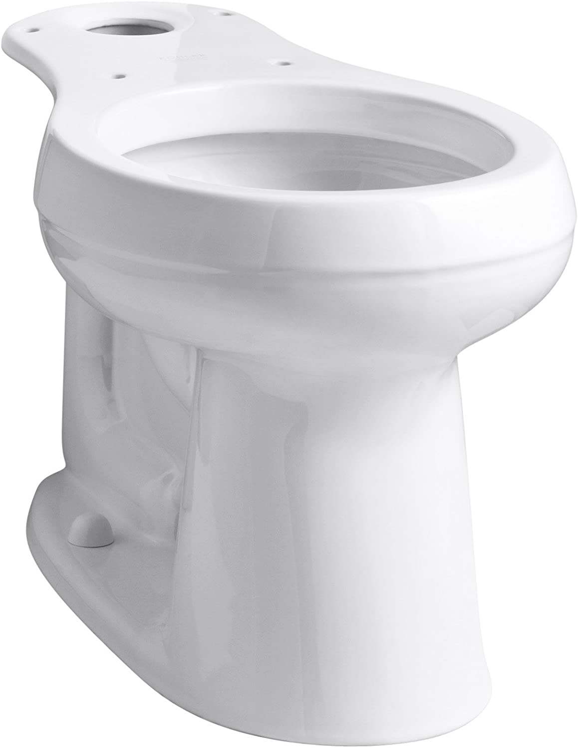 KOHLER 4829-0 Cimarron Comfort Height Round-Front Toilet Bowl with 10