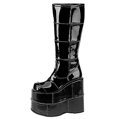 Demonia Defining Alternative Footware Plateau Stiefel