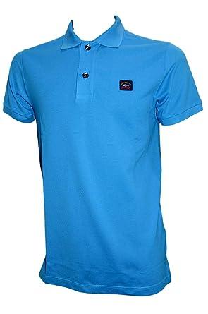 PAUL & SHARK - Polo - para Hombre Azul Azul XX-Large: Amazon.es ...