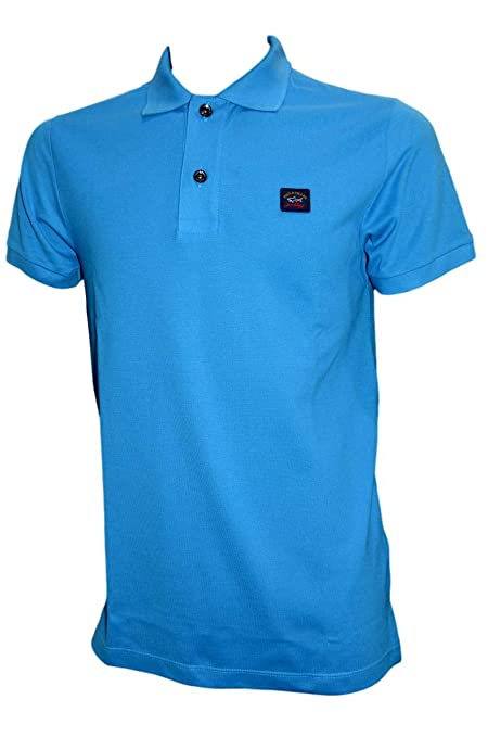 PAUL & SHARK - Polo - para Hombre Azul Azul XX-Large: Amazon.es ...