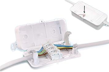 Debox SL DEKALB-003 Caja de conexiones de 4 polos ((Pack of 10)): Amazon.es: Bricolaje y herramientas