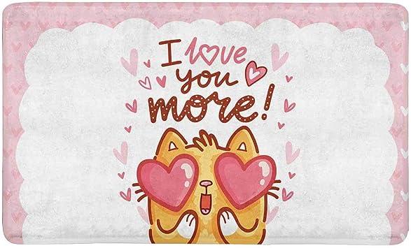 com interestprint cute cartoon cat valentine s day