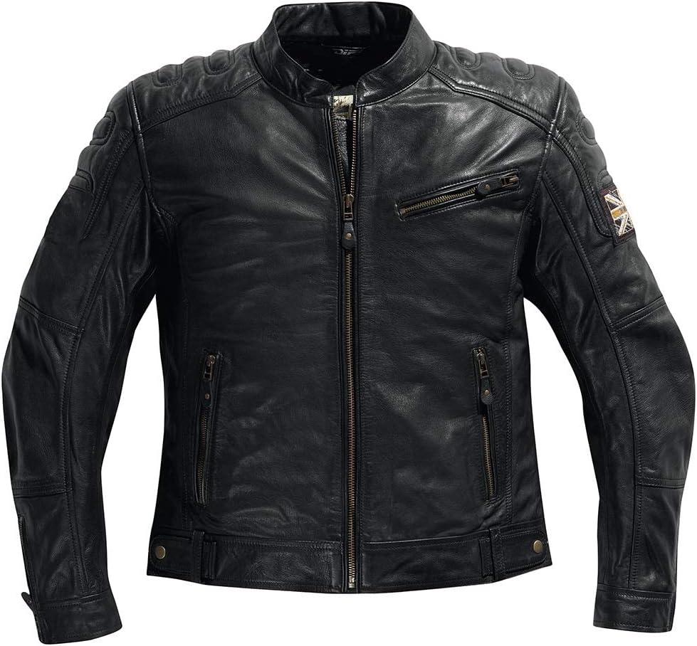 Difi BONNEVILLE Special Edition Motorradjacke Leder Retro Gr/ö/ße 56