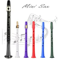 Saxofón Mini Sax de bolsillo ABS Simple clave