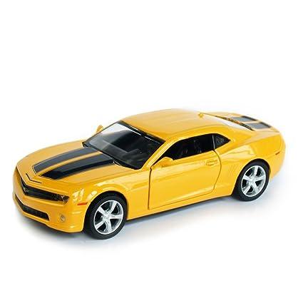 Buy Rmz City 136 Chevrolet Camaro Yellow Online At Low Prices