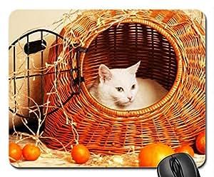 among the mandarins.... Mouse Pad, Mousepad (Cats Mouse Pad)