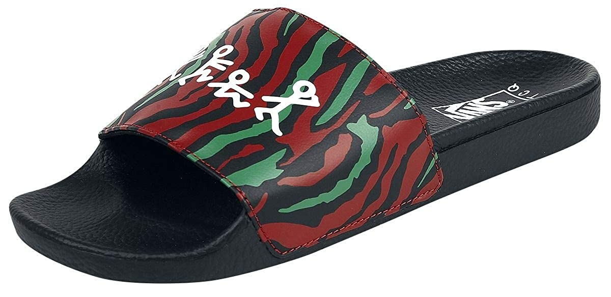 66783279bdf Vans Slide-On - A Tribe Called Quest Sandals Black-red EU39  Amazon.co.uk   Shoes   Bags