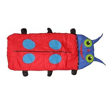 Camping Picnic manta de dormir Envelope saco de dormir diseño de Escarabajo para niños