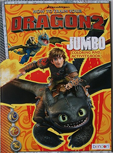 Train Dragon Jumbo Coloring Activity