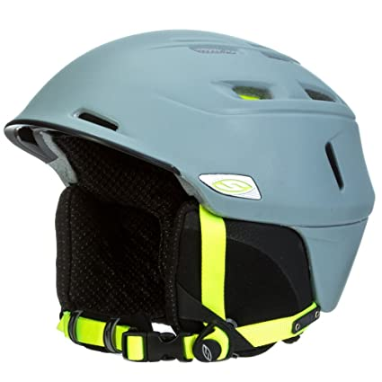 eecc33e041 Image Unavailable. Image not available for. Color  Smith Camber Helmet  Frost Acid L