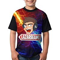 Nature Porter Lazarbeam Boys and Girls Print T-Shirts, Youth Fashion Tops