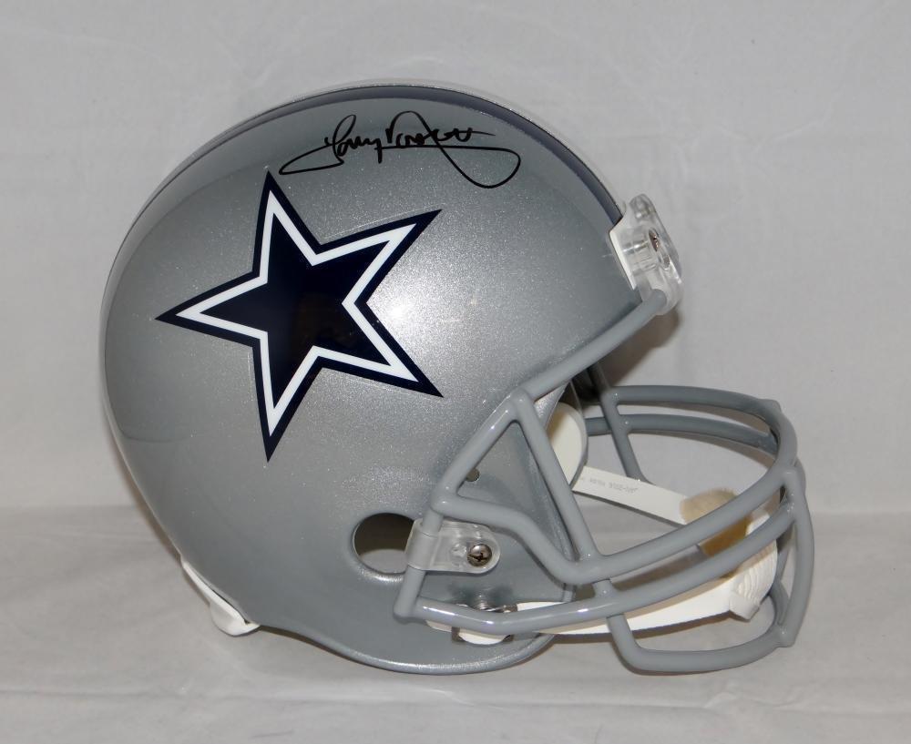 Tony Dorsett Autographed Helmet -  Blk F S Silver Witnessed Au - JSA  Certified - Autographed NFL Helmets e14d559b2