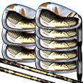 Japan Epron TRG 4-SW Graphite Matrix Stain Steel Chrome Iron High Launch Golf Club Set