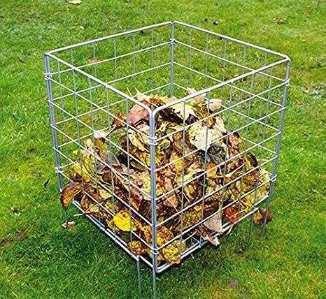 Poppy Forge de Metal incinerador/cubo de basura para abono. British Made: Amazon.es: Jardín