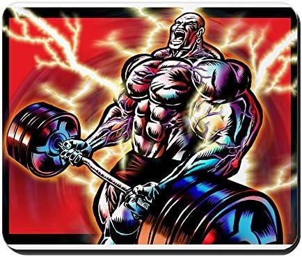 Amazon com: CafePress - Bodybuilding CURL - Non-Slip Rubber