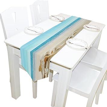 Amazon.com: yochoice Camino de mesa Home Decor, elegante ...