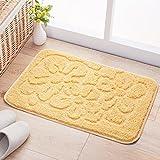 Door mats household mats anti-slip door mats bedroom/bathroom mat -4565cm Yellow