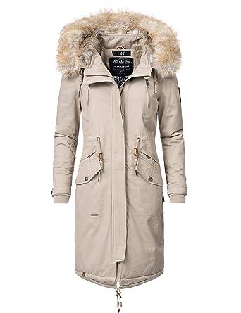 best website 170df 440f7 Navahoo Damen Wintermantel Winterparka Kin-Joo 6 Farben XS-XXL