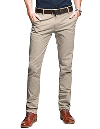 Match Herren Slim Casual Hose #8025(8025 Aprikose-2,29)
