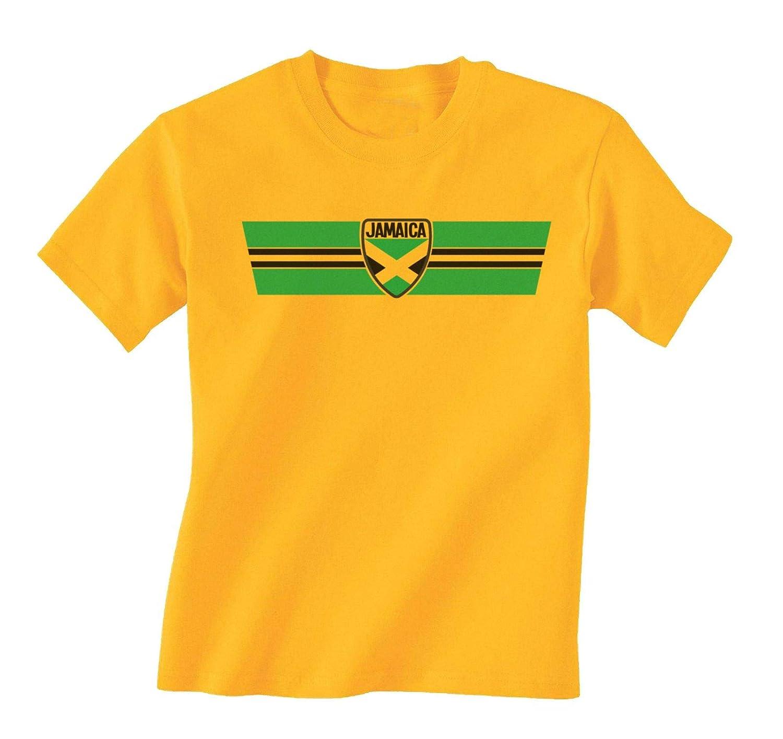 Buzz Shirts Jamaica Patriotic Retro Strip T-Shirt *Elección de ...