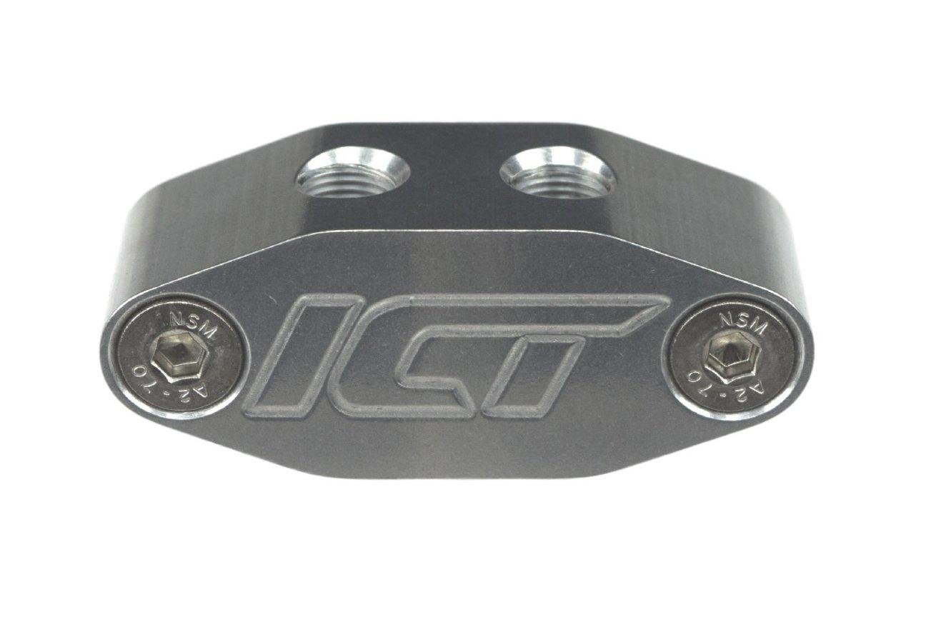 Amazon.com: Oil Pan Pressure Sensor Adapter Port Dual 1/8