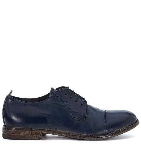 MOMA! Men s Blue Leather Lace up Shoes 43 91c7d1562fc