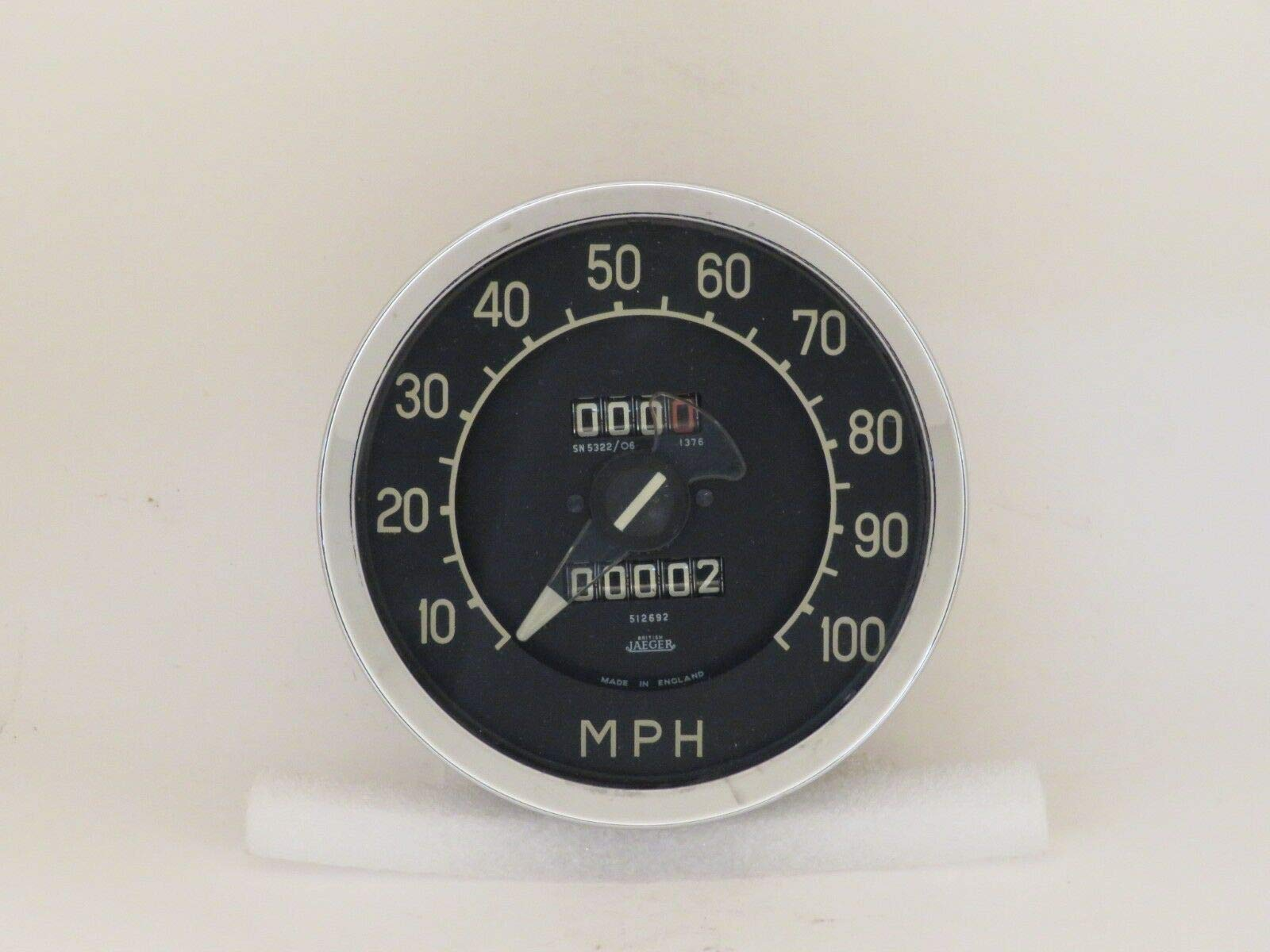 EPC Speedometer NOS Jaeger Fits Rover P5 3 Litre 06/1959-09/1962 SN5322/06 by EPC