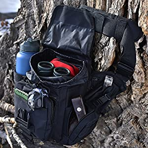 Kakuetta Trail Hiking Sling Bag Daypack, Travel Backpack - Unisex