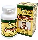 Terry Naturally Curamin Headache with Clinically Studied BCM95 Curcumin 60 Tabs