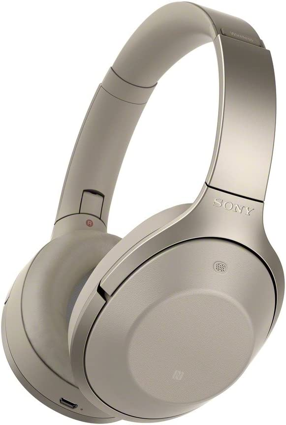 Sony Bluetooth Stereo Headphone MDR-1000X Gray Beige [Japan Imported] (International Model)